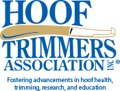 Hoof Trimmer's Association logo, dairy hoof health